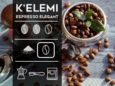 Kelemi Espresso Elegant Beans