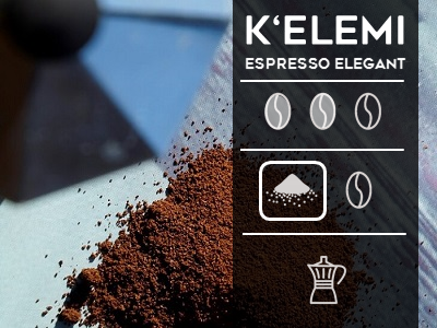 Kelemi Espresso Elegant Ground