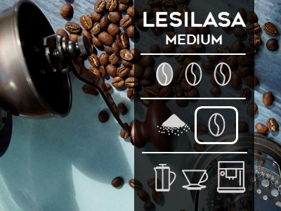 Lesilasa Medium Roast Beans