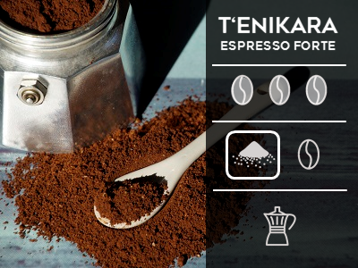 Tenikara Espresso Forte Ground