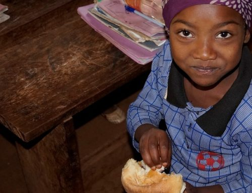 Schoolmeals for the coffee farmers' kids