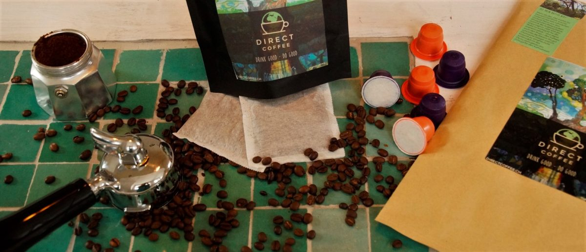 Less waste through coffee-mailer and biodegradable capsules
