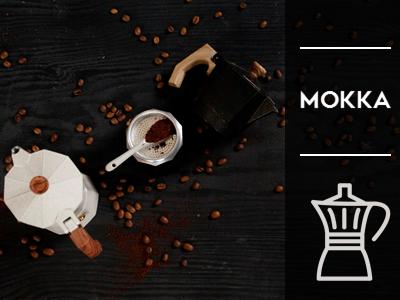 Espressokocher oder Mokkakännchen