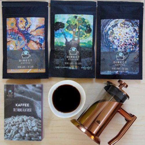 Geschenkset Kaffee mit French Press