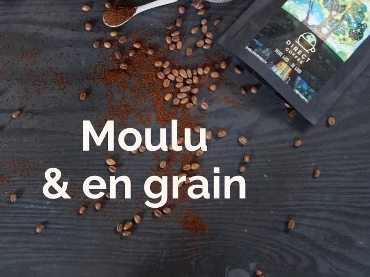 Catégorie moulu et grain