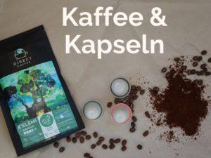 Bohnenkaffee Gemahlen und Kaffeekapseln