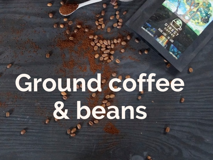 Category Ground coffee and beans