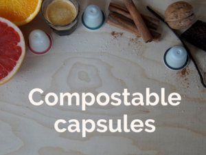 Category compostable coffee capsules