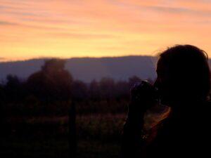 Titelbild Sonnenaufgang mit Kaffee